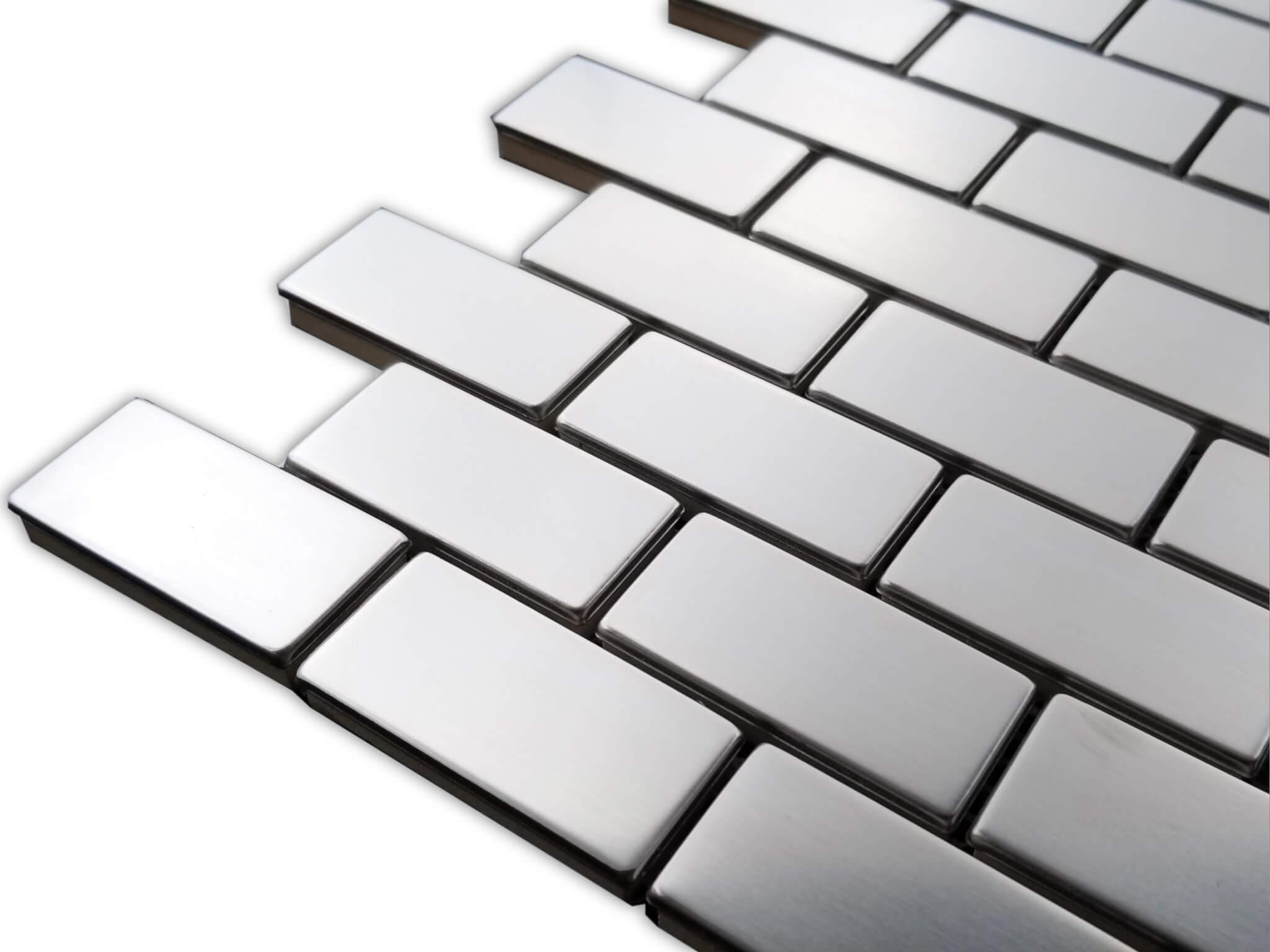 Stainless Steel Tile Hs031 Dixietileshop Mosaic Tiles